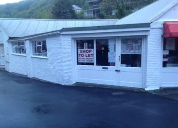 Thumbnail Commercial property to let in The Shop, The Coombes, Polperro, Looe