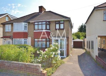 Thumbnail 3 bed semi-detached house for sale in The Glade, Clayhall, Ilford