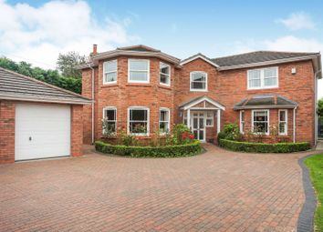 Thumbnail 4 bed detached house for sale in Wynnstay Lane, Marford