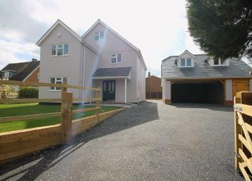 Thumbnail 4 bed detached house for sale in Crown Close, Sheering