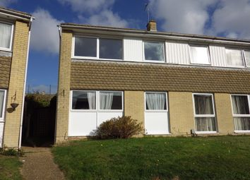 Thumbnail 3 bed end terrace house to rent in Hythe Close, Folkestone