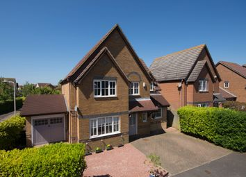Thumbnail 4 bed detached house for sale in Downs Close, Hawkinge