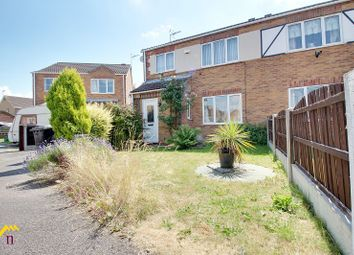 Thumbnail 3 bed semi-detached house for sale in Bloomhill Court, Moorends