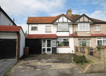 Thumbnail 4 bed semi-detached house for sale in Colburn Way, Sutton, Surrey