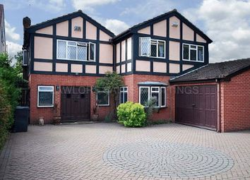 Thumbnail 5 bed detached house to rent in Manor Road, Chigwell