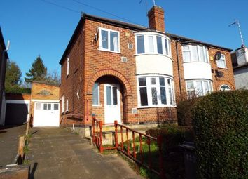 Thumbnail 3 bed semi-detached house for sale in Anstey Lane, Leicester, Leicestershire