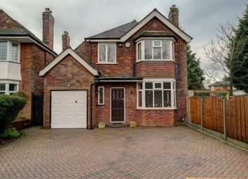 Thumbnail 4 bed detached house for sale in Pinfold Road, Solihull