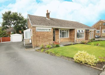 Thumbnail 2 bed semi-detached bungalow for sale in Cherrywood Avenue, Over Hulton, Bolton, Lancashire.