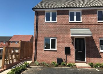 Thumbnail 3 bed semi-detached house to rent in The Hardstaff Homes, Priory Road, Mansfield Woodhouse, Mansfield
