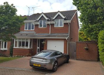 Thumbnail 4 bed detached house for sale in West End, Surrey