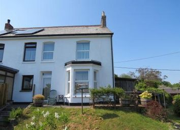 Thumbnail 4 bed semi-detached house for sale in Trethurgy, St. Austell