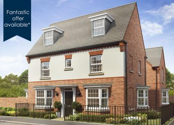 """Thumbnail 4 bedroom detached house for sale in """"Hertford"""" at Callow Hill Way, Littleover, Derby"""