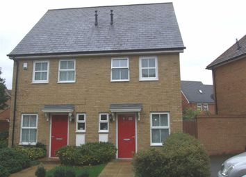 Thumbnail 2 bed semi-detached house for sale in Bayeux Gardens, Gillingham
