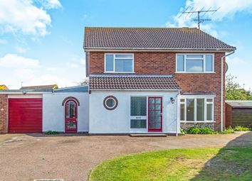 Thumbnail 4 bed detached house for sale in Swafield Rise, North Walsham