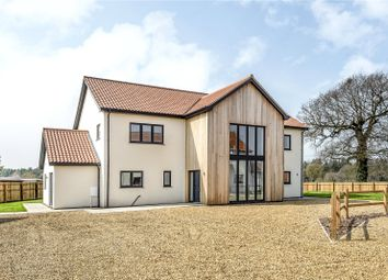 Thumbnail 4 bedroom detached house for sale in Taverham Road, Felthorpe, Norwich