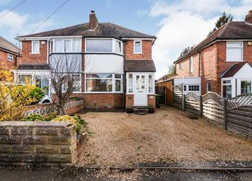 Thumbnail 2 bed semi-detached house for sale in Beverley Road, Rubery, Rednal, Birmingham