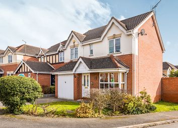 Thumbnail 4 bed detached house for sale in Silkstone Close, Church Gresley, Swadlincote