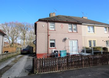 Thumbnail 2 bed flat for sale in Hillhead Crescent, Motherwell