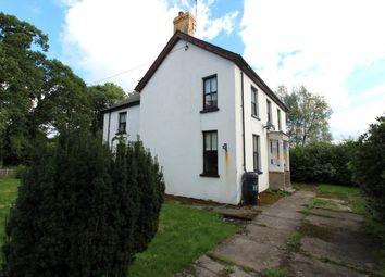 Thumbnail 5 bed detached house for sale in Pentrecwrt, Llandysul