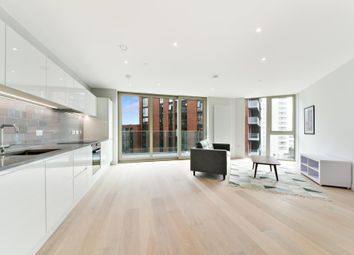 Thumbnail 2 bed flat to rent in Liner House, Royal Wharf, London