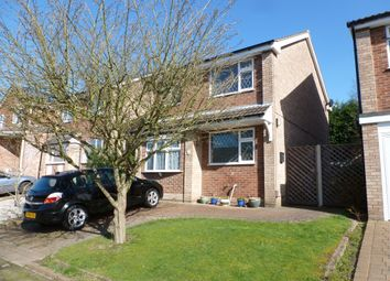 Thumbnail 3 bedroom detached house for sale in Bosworth Drive, Newthorpe, Nottingham