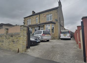 Thumbnail 4 bed semi-detached house for sale in Moor Park Drive, Bradford, West Yorkshire