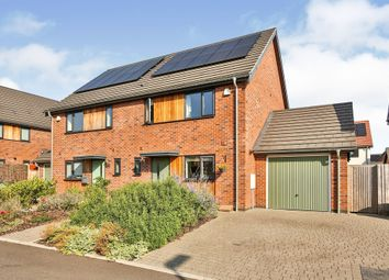 Thumbnail 3 bed semi-detached house for sale in Minnow Close, Swaffham