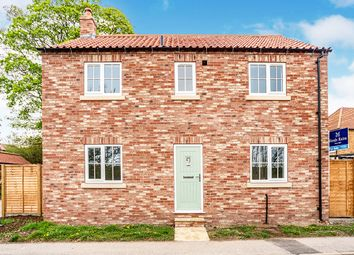 Thumbnail 3 bed detached house for sale in East Bank, Weaverthorpe, Malton, North Yorkshire