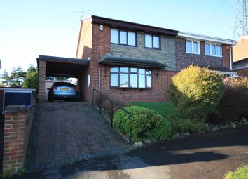 Thumbnail 3 bed semi-detached house for sale in Greenmoor Avenue, Wedgwood Farm, Stoke-On-Trent