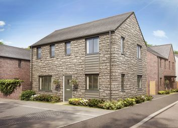 "Thumbnail 3 bedroom detached house for sale in ""The Clayton Corner"" at Llantrisant Road, Capel Llanilltern, Cardiff"