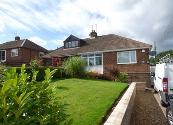 Thumbnail 2 bedroom semi-detached bungalow for sale in Coupe Drive, Weston Coyney, Stoke-On-Trent