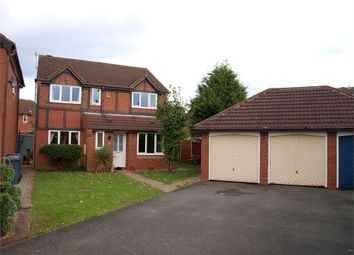 Thumbnail 4 bed detached house for sale in Epsom Close, Branston, Burton-On-Trent, Staffordshire