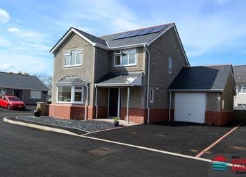 Thumbnail 3 bed detached house for sale in Bro Gwystl, Y Ffor, Pwllheli