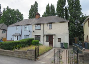 Thumbnail 3 bed semi-detached house for sale in Woodsbank Terrace, Darlaston, Wednesbury