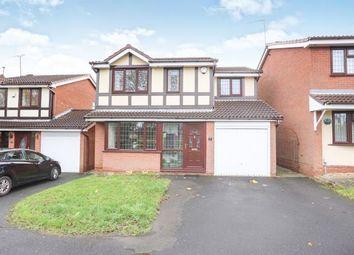 Thumbnail 4 bed detached house for sale in Elwells Close, Bilston, Wolverhampton, West Midlands
