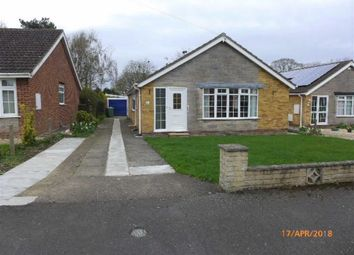 Thumbnail 3 bed bungalow to rent in Dovecote, Middle Rasen, Market Rasen