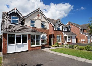 Thumbnail 3 bed detached house for sale in Finch Close, Carlisle