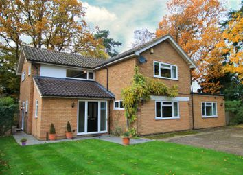 Thumbnail 5 bed detached house to rent in Birch Close, Send, Woking