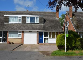 Thumbnail 3 bed semi-detached house for sale in Wolsey Road, Woodlands, Rugby