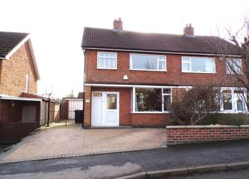 Thumbnail 3 bed semi-detached house for sale in Link Road, Anstey, Leicester, Leicestershire