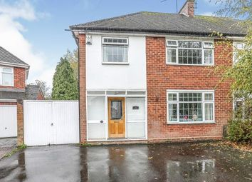 Thumbnail 3 bed semi-detached house for sale in Ridgeway Avenue, Coventry, West Midlands