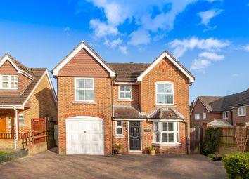 Thumbnail 4 bed detached house for sale in Laurel Gardens, Aldershot, Hampshire