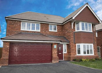 Thumbnail 4 bed detached house for sale in Holmes Chapel Road, Congleton