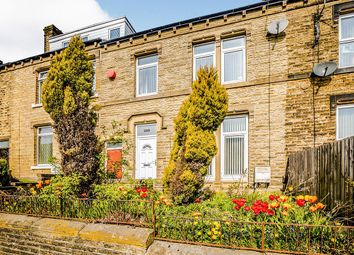 Thumbnail 3 bed terraced house for sale in Blackmoorfoot Road, Crosland Moor, Huddersfield, West Yorkshire