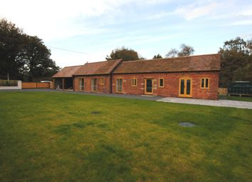 Thumbnail 2 bed barn conversion for sale in Wollerton, Market Drayton