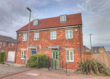 Thumbnail 3 bed town house for sale in Gibsons Court, Blaydon-On-Tyne