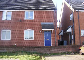 Thumbnail 1 bed semi-detached house to rent in Brewery Hill, Grantham