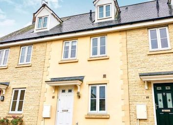 Thumbnail 3 bed town house for sale in 12 Rowan Drive, Witney, Oxfordshire