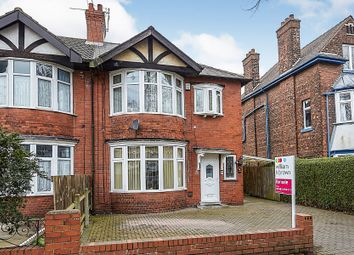 Thumbnail 3 bedroom semi-detached house for sale in North Road, Hull