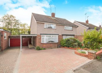 Thumbnail 2 bed semi-detached house for sale in Clarks Close, Ware